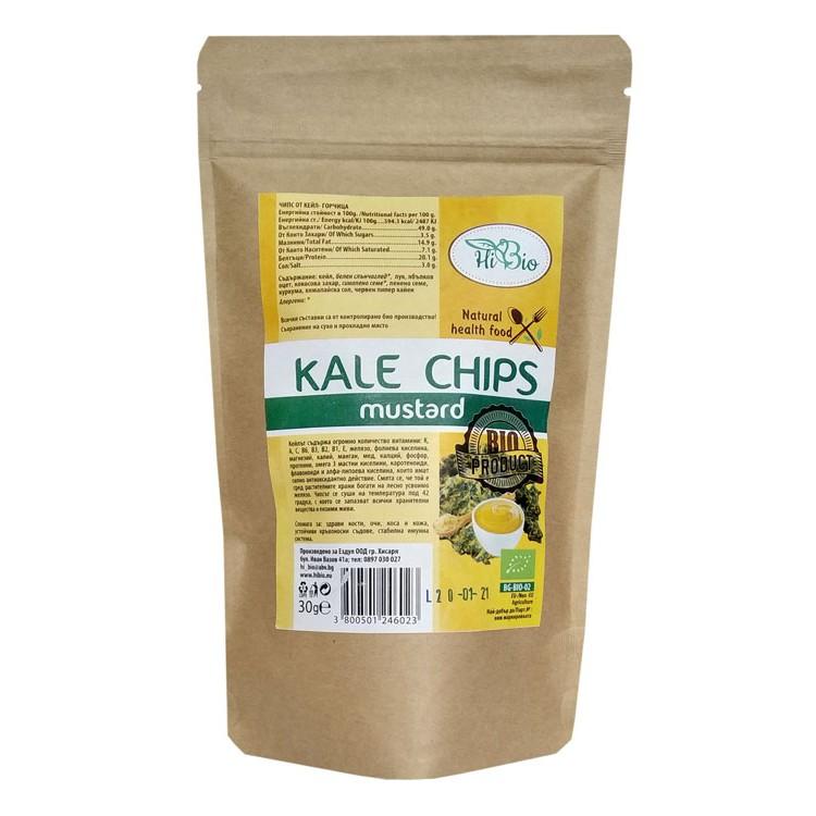 кейл чипс горчица